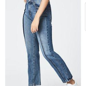 Carmar Ursula Straight High Rise Non-Stretch Jeans